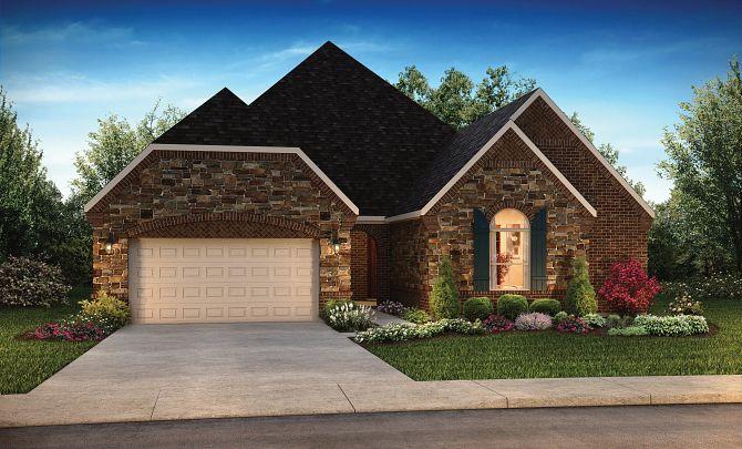 Elevation B: Texas Traditional