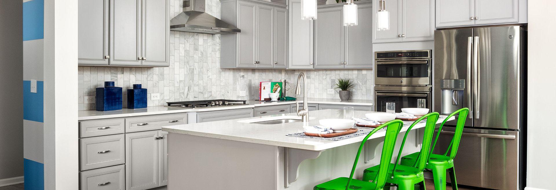 Delaney plan Kitchen with split cooking