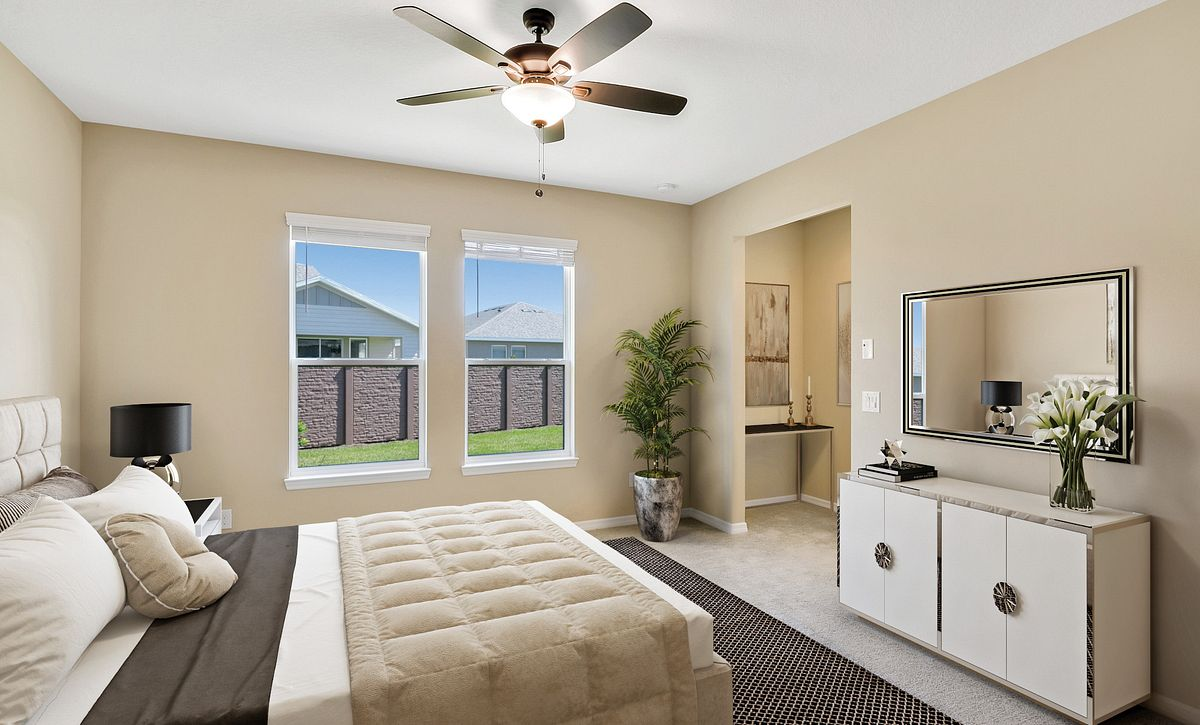 Trilogy at Ocala Preserve Quick Move In Home Connect Plan Master Bed