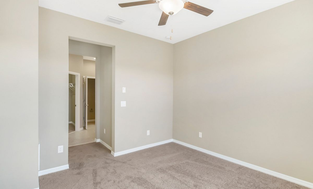 Trilogy at Ocala Preserve Quick Move In Home Muros Plan Master Bed