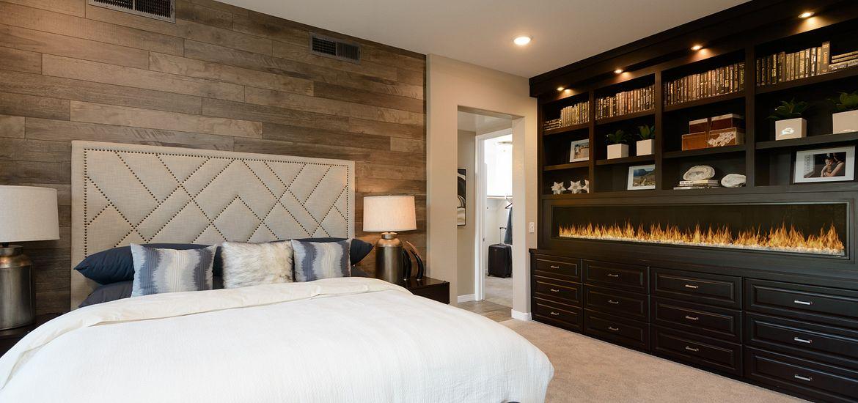 Vantage  Plan Flat Sixteen40 Master Bedroom
