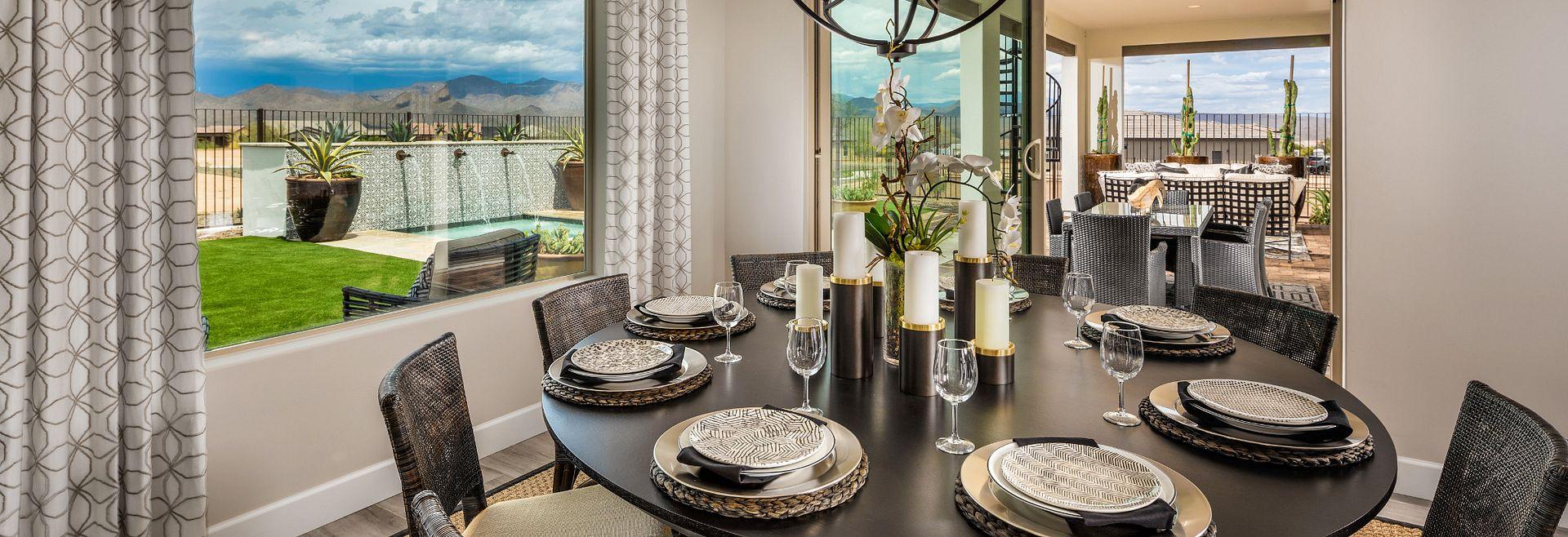 Brasada Model Dining Room