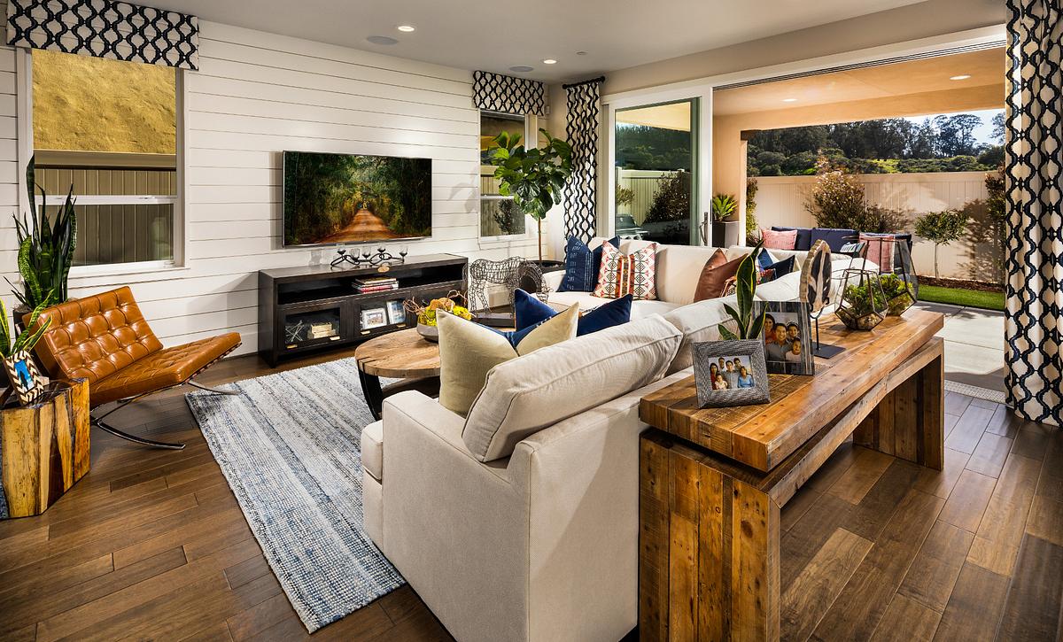 Shea Homes Rice Ranch Verbena Great Room