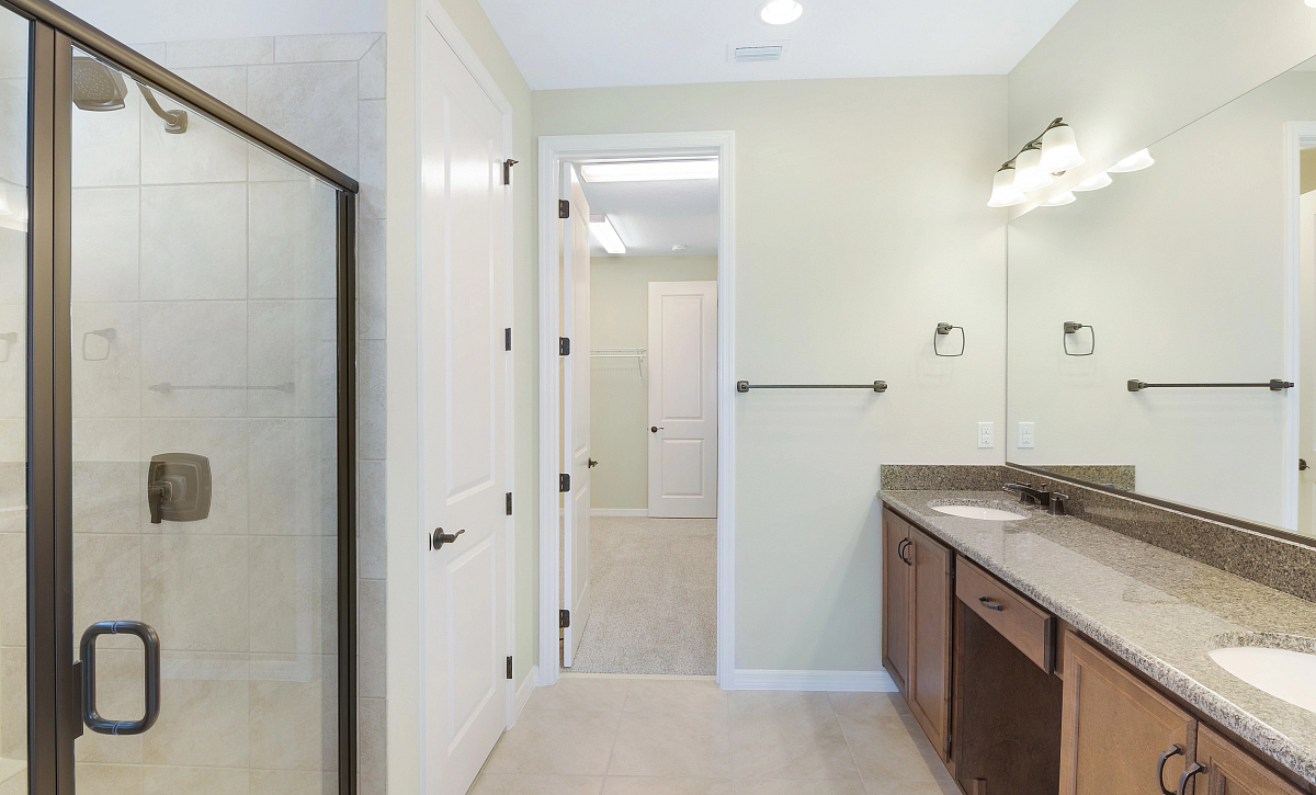 Trilogy at Ocala Preserve Quick Move In Home Refresh Plan Master Bath