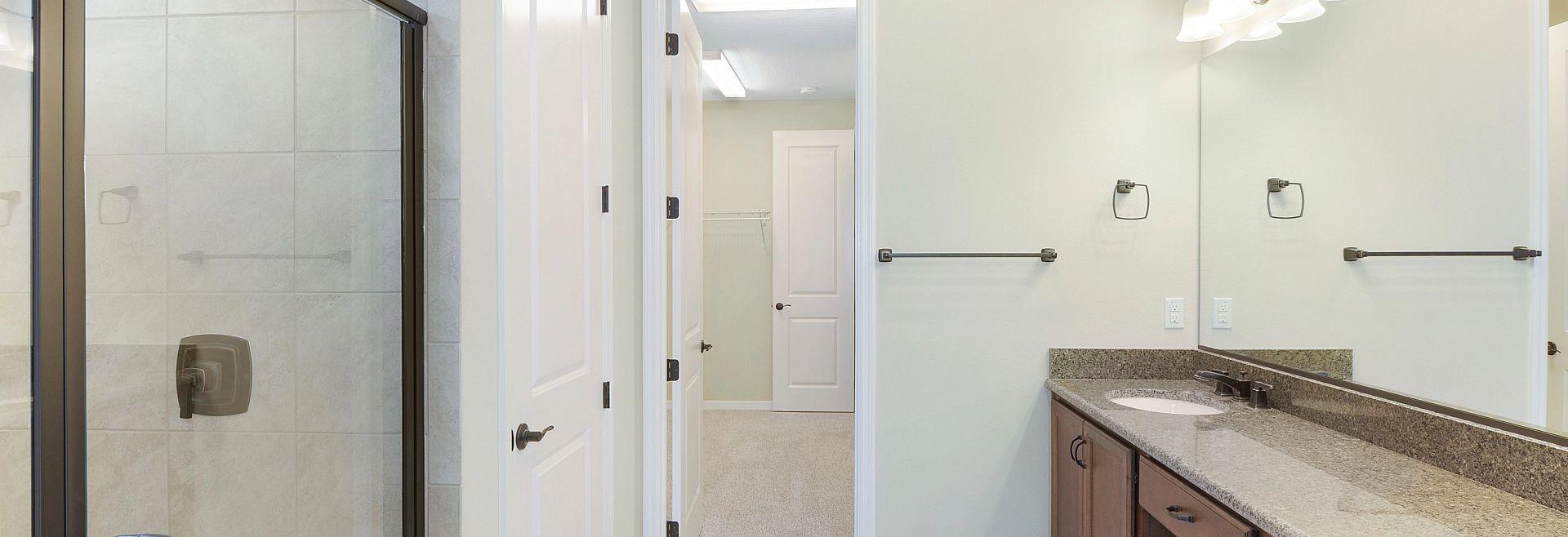 Trilogy at Ocala Preserve Quick Move In Home Refraesh Plan Master Bath