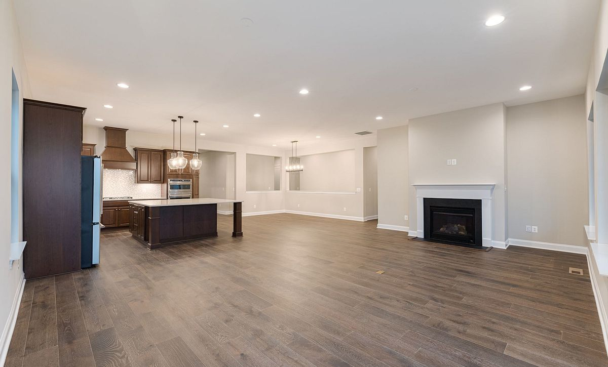 Trilogy at Lake Frederick Quick Move In Home Evoke Plan Great Room