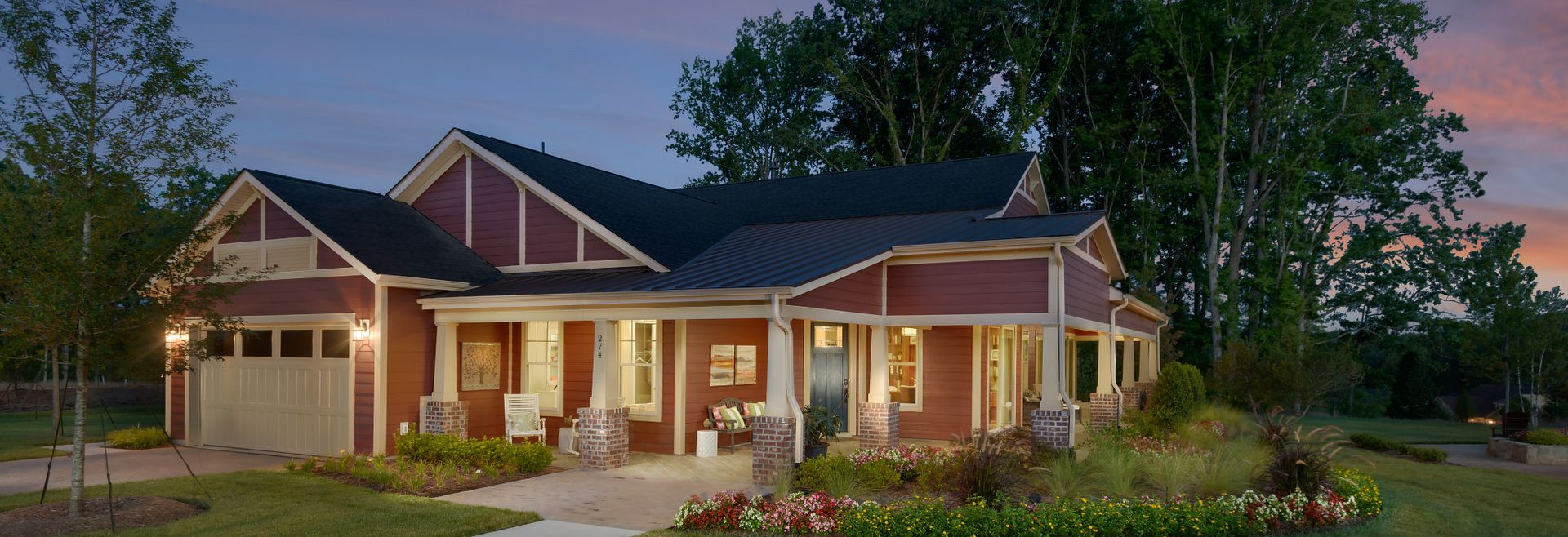 Trilogy Lake Norman Captivate Plan Exterior