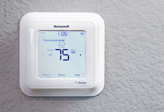 Honeywll pro smart thermostat