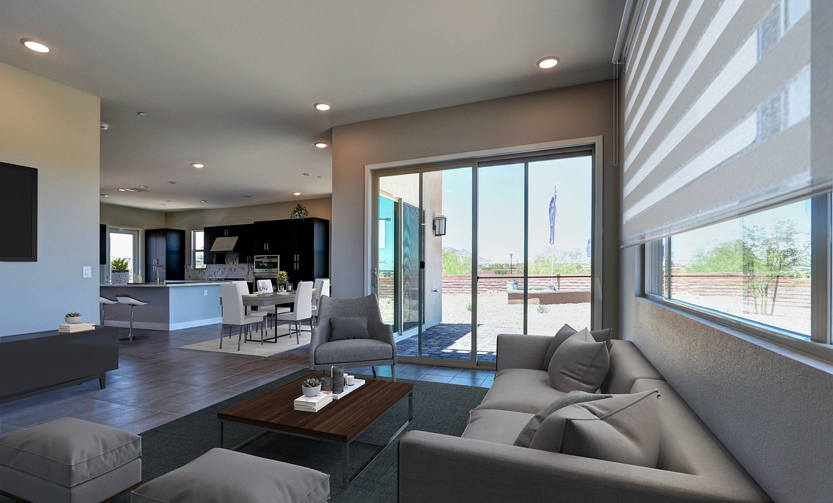 Trilogy in Summerlin Luminous Great Room