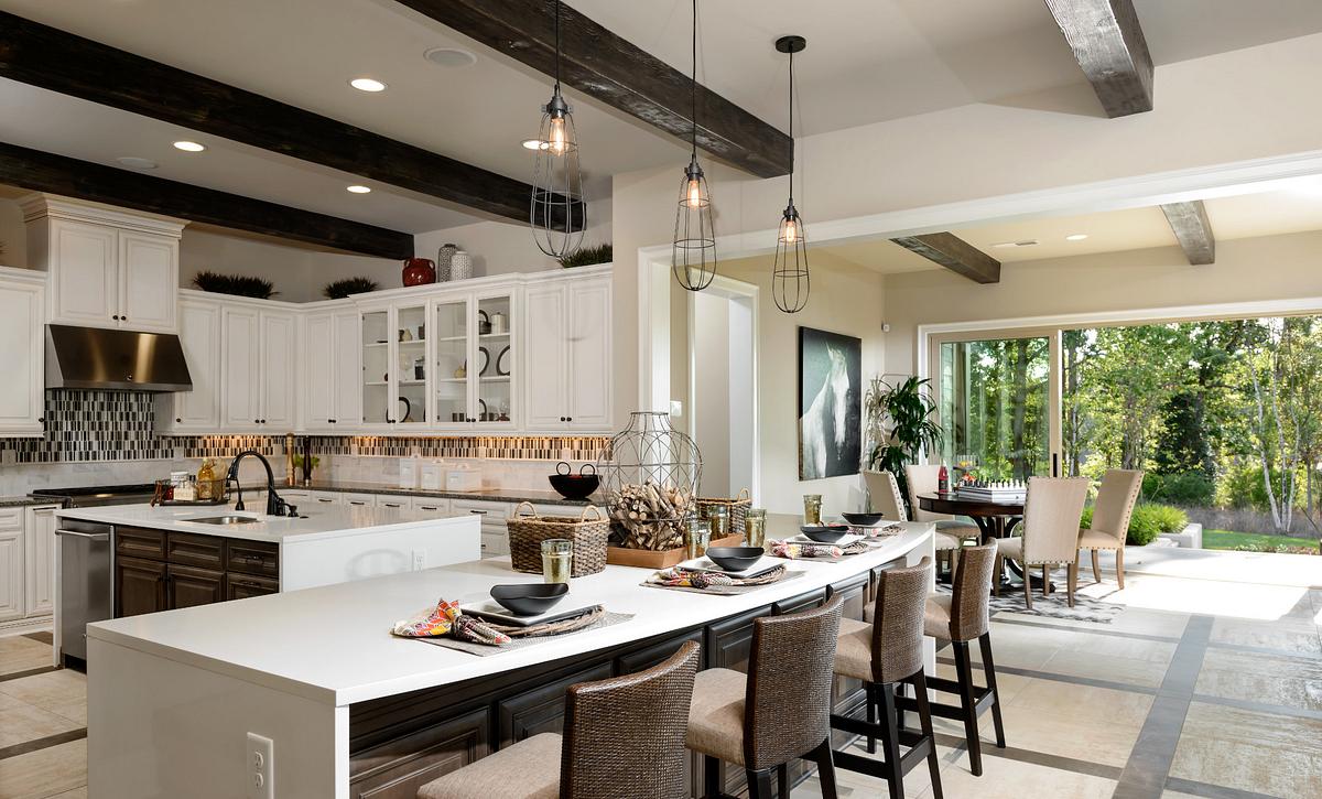 Trilogy Lake Norman Balsam Plan Kitchen