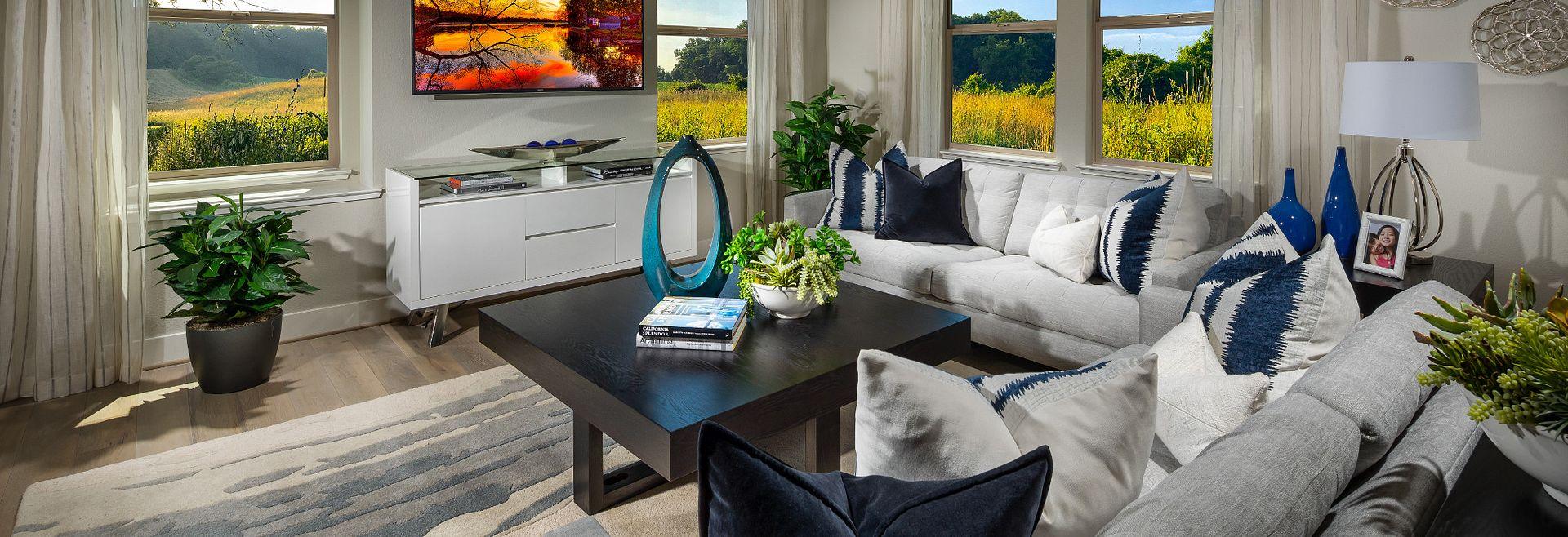 Harmony Sage Livermore Plan 3 Living Room