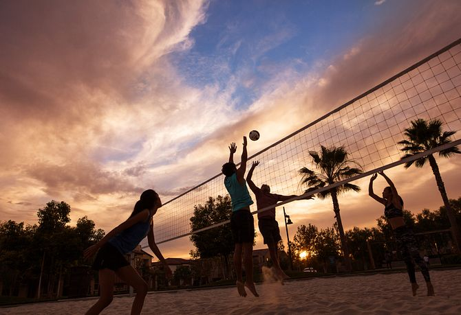 Baker Ranch Volleyball Court