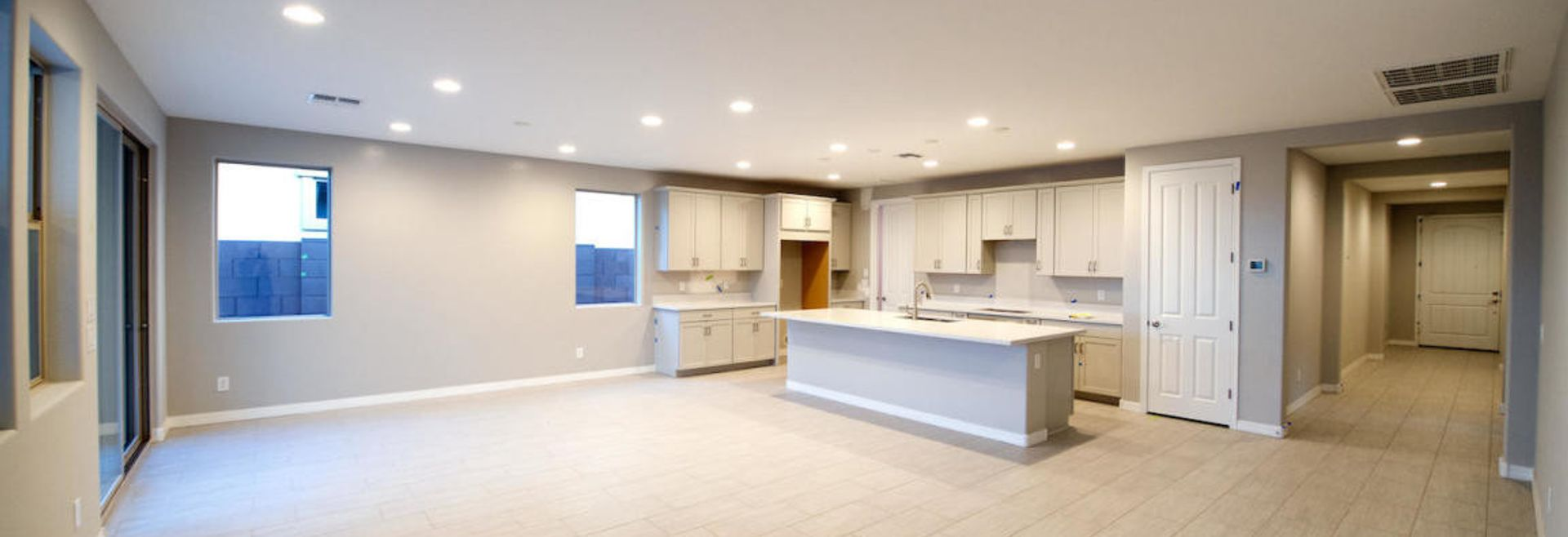 Inside of Gateway Quarter Aperture Plan 4013 Kitchen and Great Room