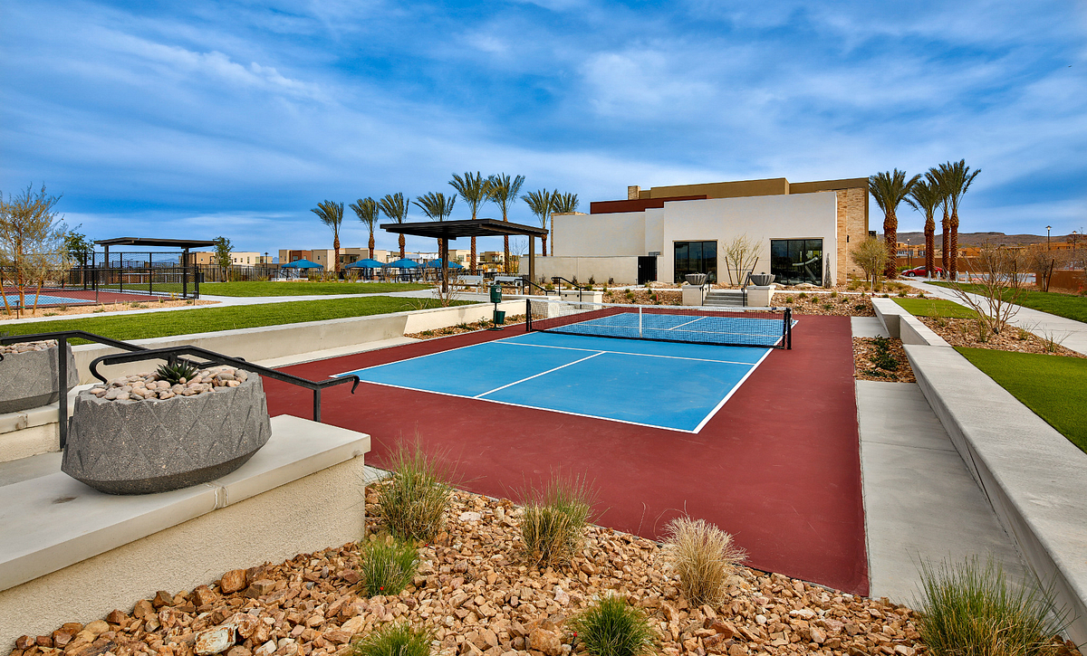 Trilogy Summerlin Championship Pickleball Court
