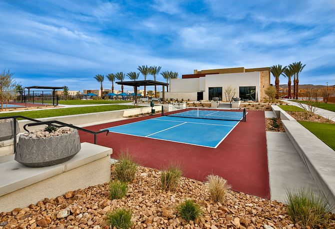 Trilogy Summerlin Outlook Club Championship Pickle Ball Court