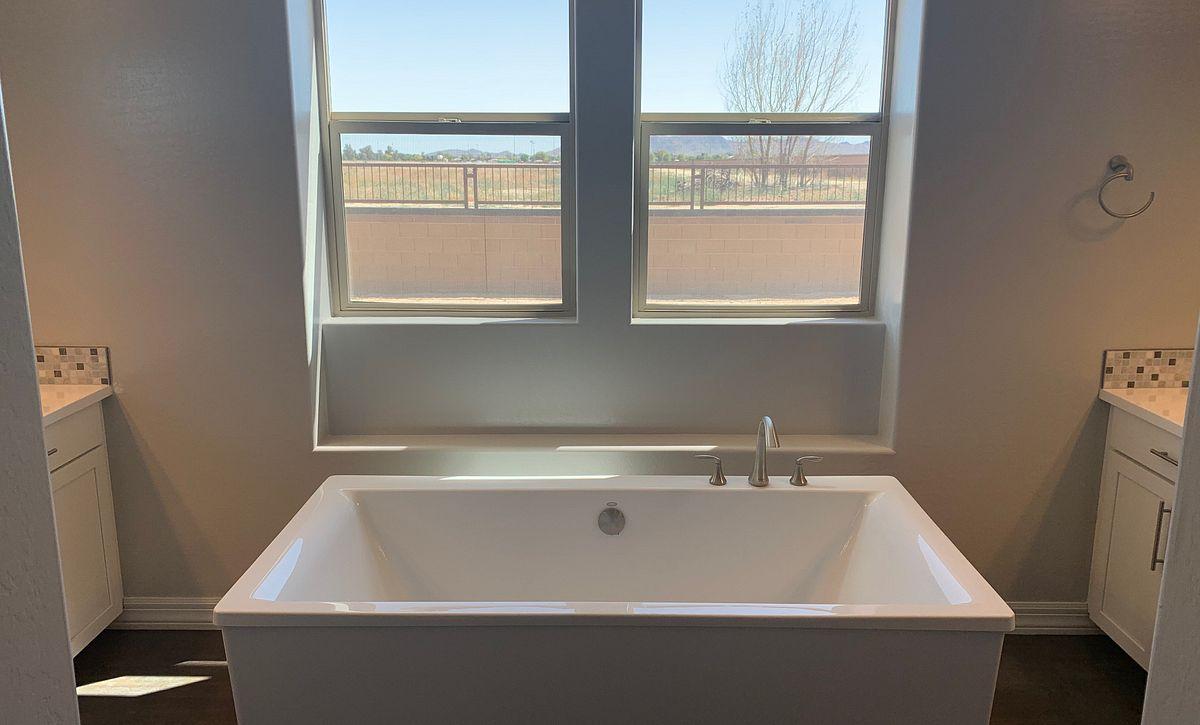 Origin, Homesite 258, Master Bath - Free Standing Tub