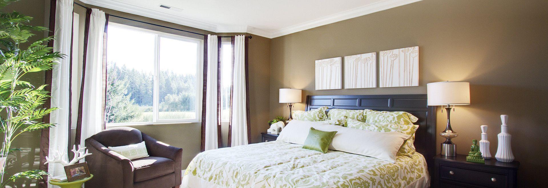 Trilogy at Tehaleh Pebble Beach Master Bedroom