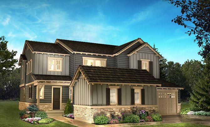 Exterior B: High Country Farmhouse