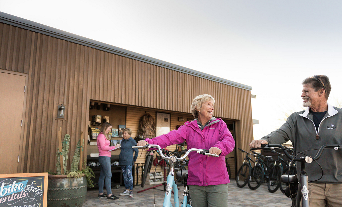 Trilogy Homeowners Renting Electric Bikes