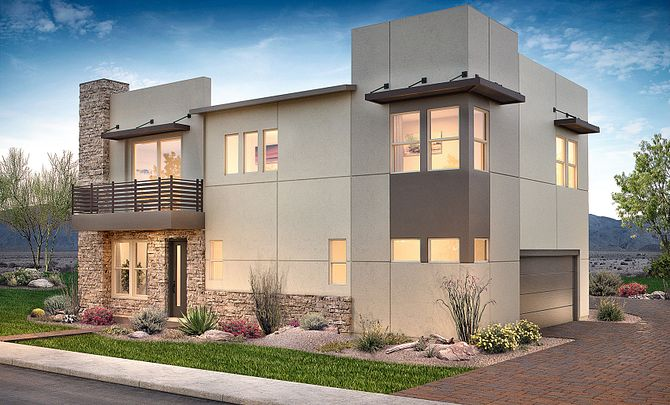 Altair Exterior C: Contemporary