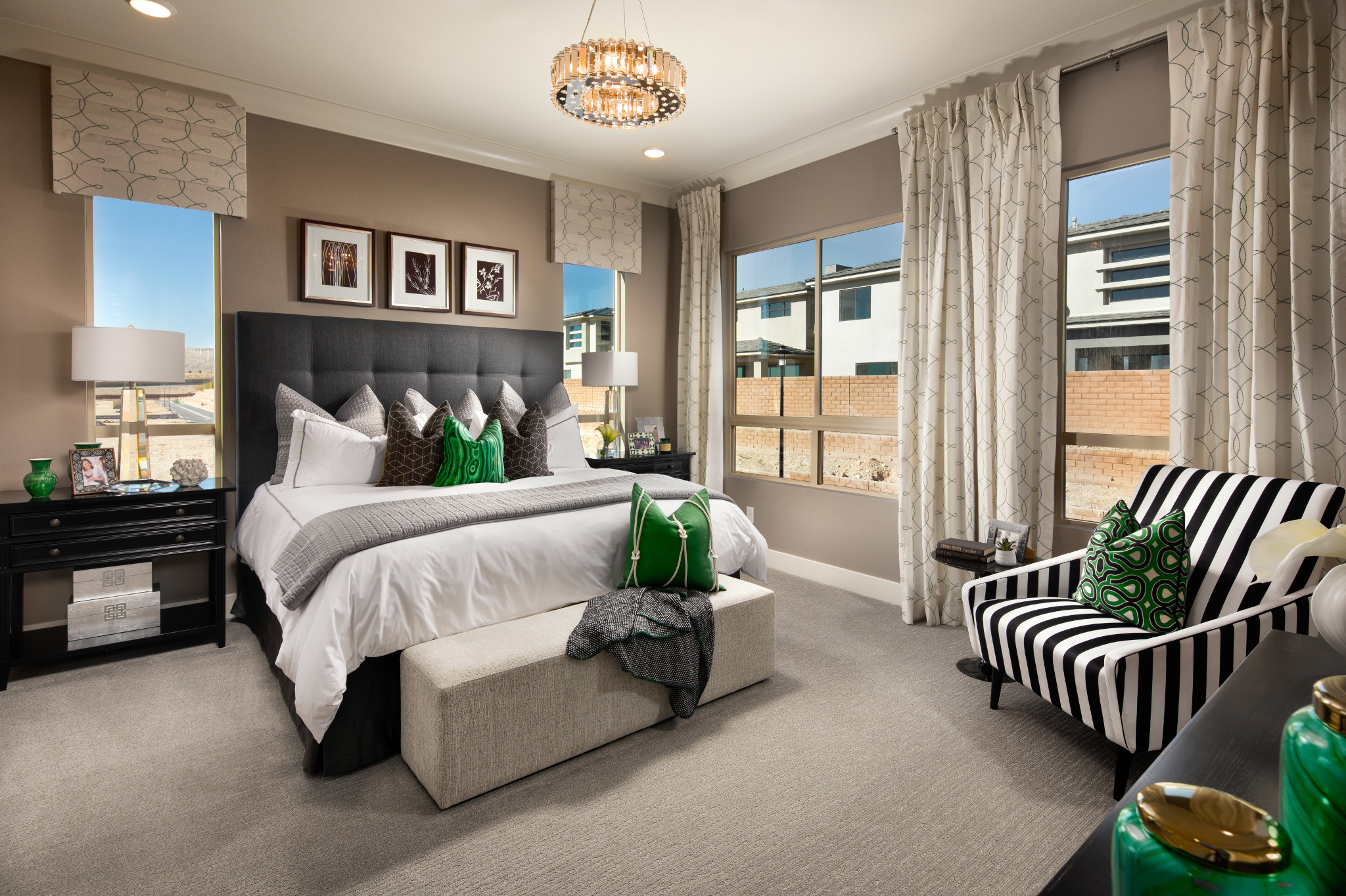 Trilogy in Summerlin Viewpoint Master Bedroom