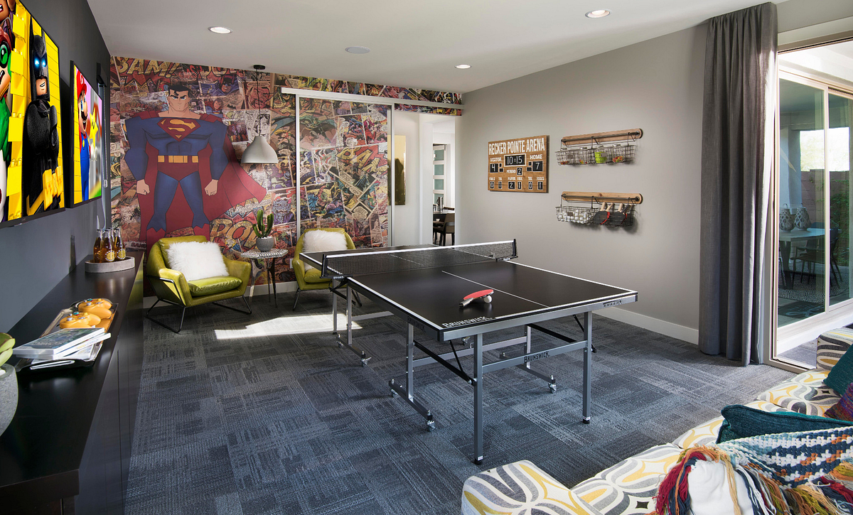 Passion Plan Game Room