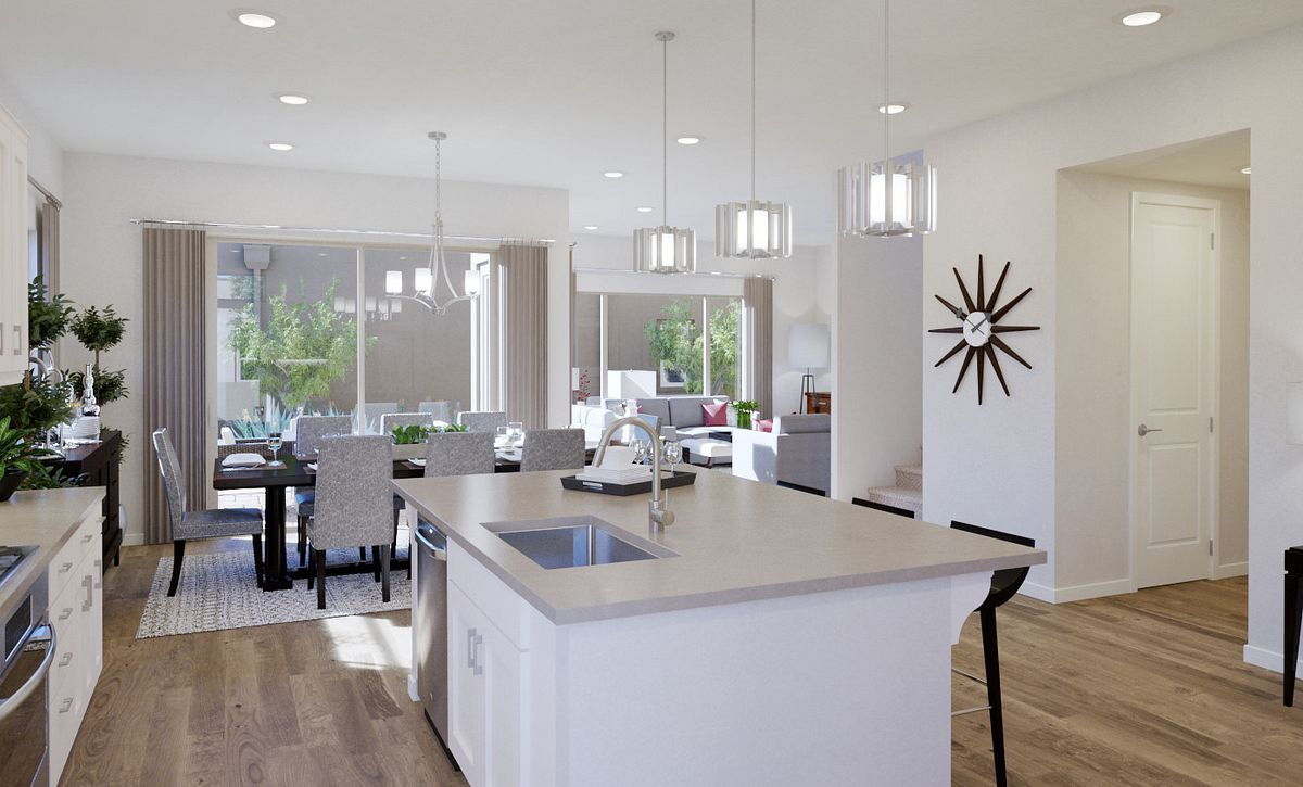 Trilogy Summerlin Radiant Kitchen Rendering