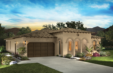 Rendered Exterior of Home