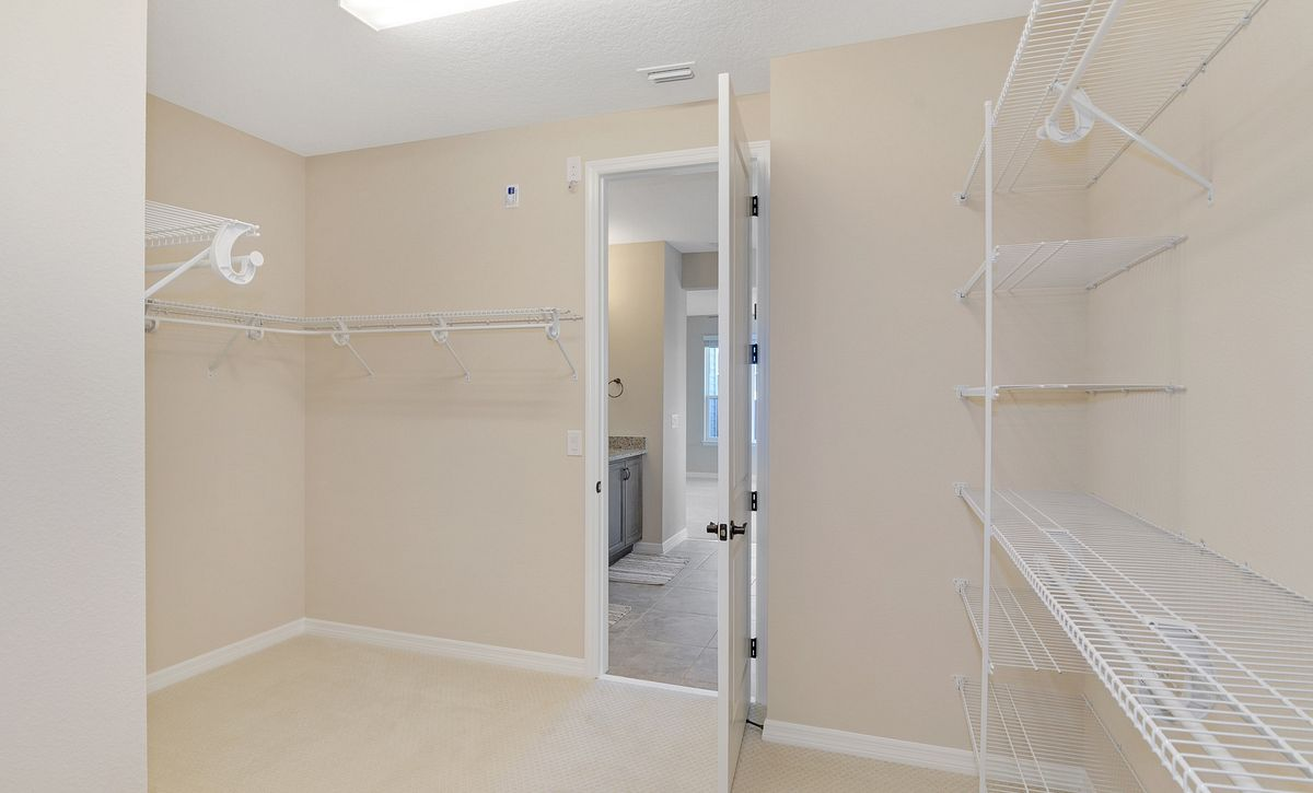 Trilogy at Ocala Preserve Quick Move In Refresh Plan Walk In Closet