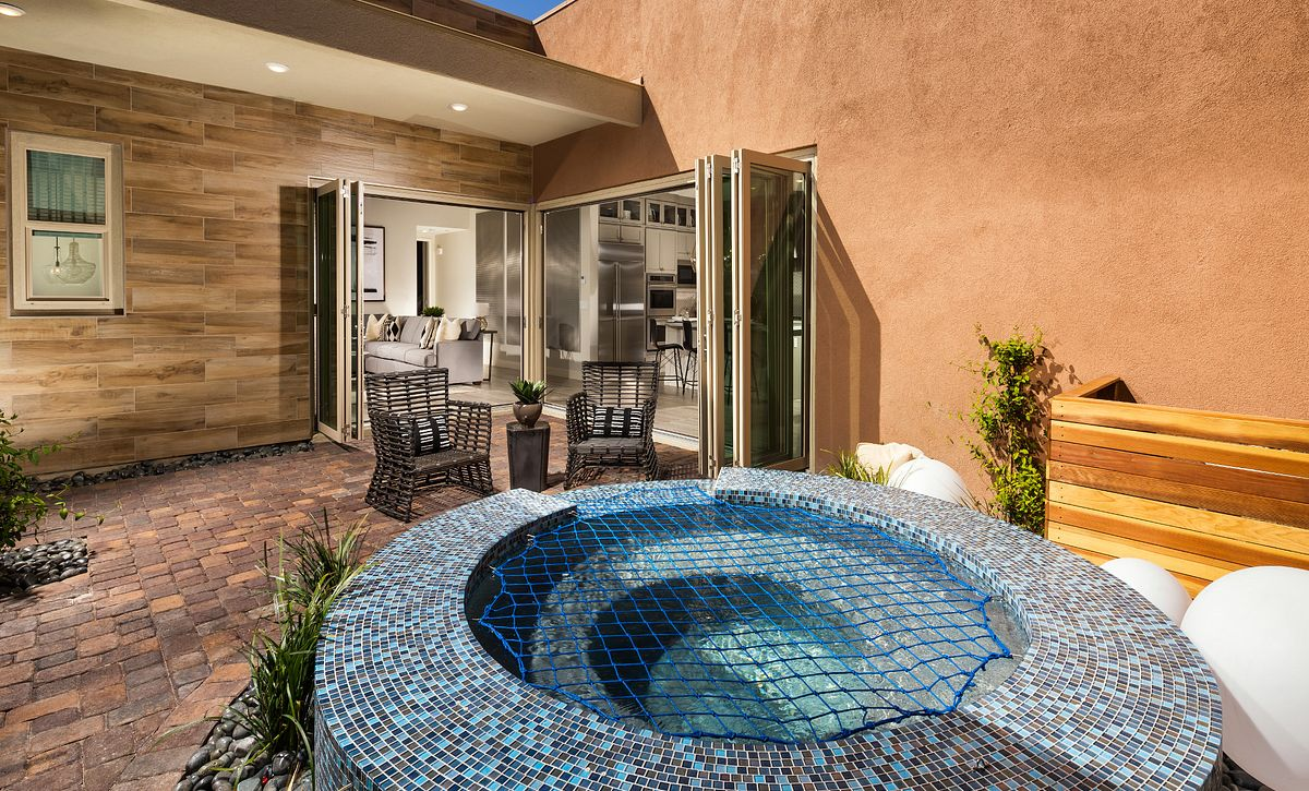 Trilogy in Summerlin Indulge Patio