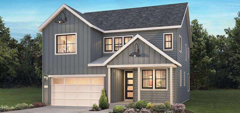 Solstice Modern Farmhouse Exterior Design