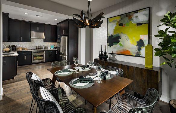 Harmony Plan 8 Sage Livermore Dining Room