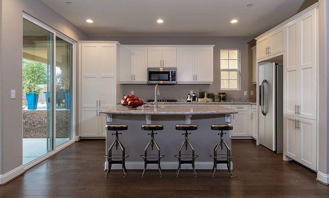 Monarch Ridge Townhome Homesite 44 Acacia+ Kitchen