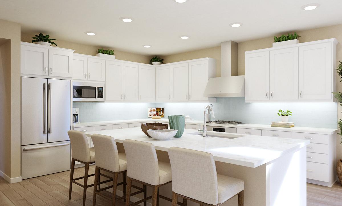 Trilogy Summerlin Explore Kitchen Rendering