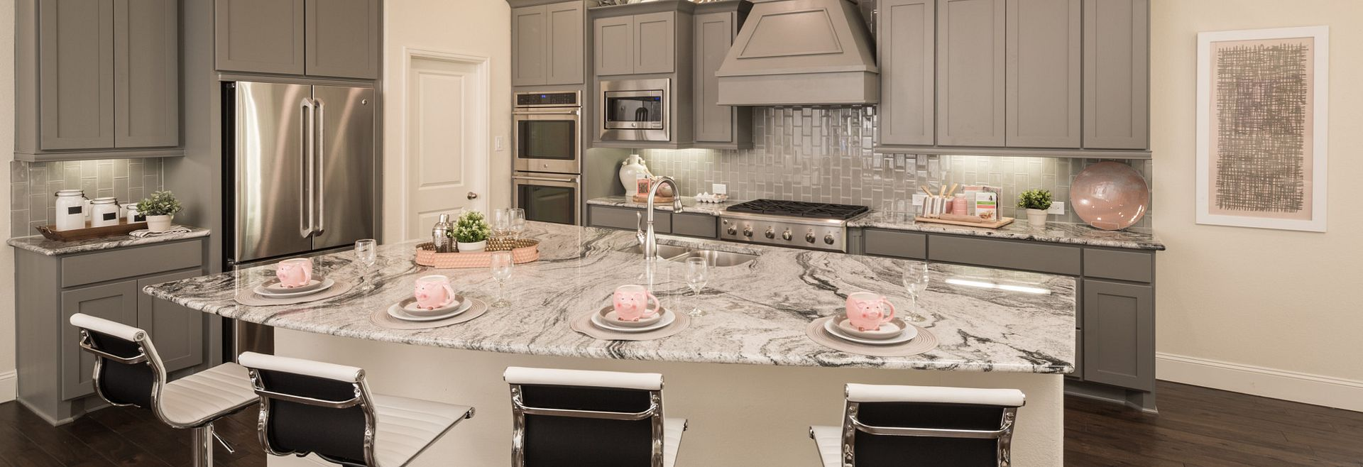 Harmony 50' Series at Vivace Plan 4117 Kitchen