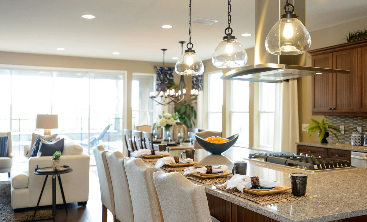 Trilogy at Ocala Preserve Refresh Model Kitchen
