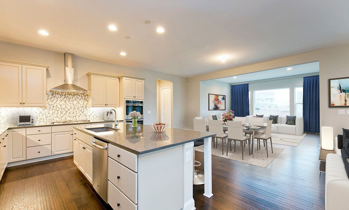 Trilogy at Lake Frederick Quick Move In Home Virtually Staged Kitchen
