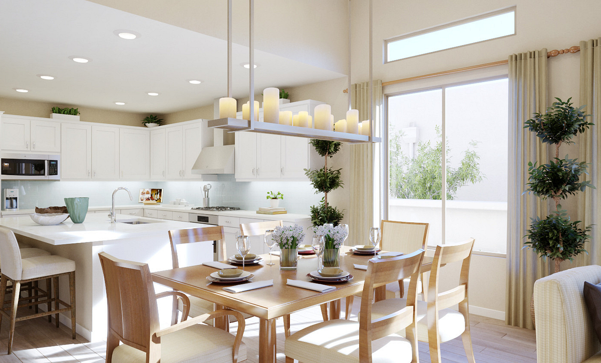 Trilogy Summerlin Explore Dining Rendering
