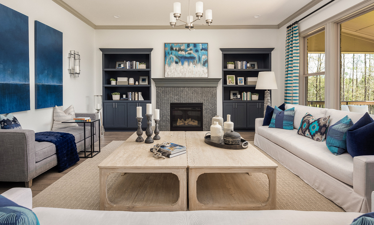 Amherst plan Family Room