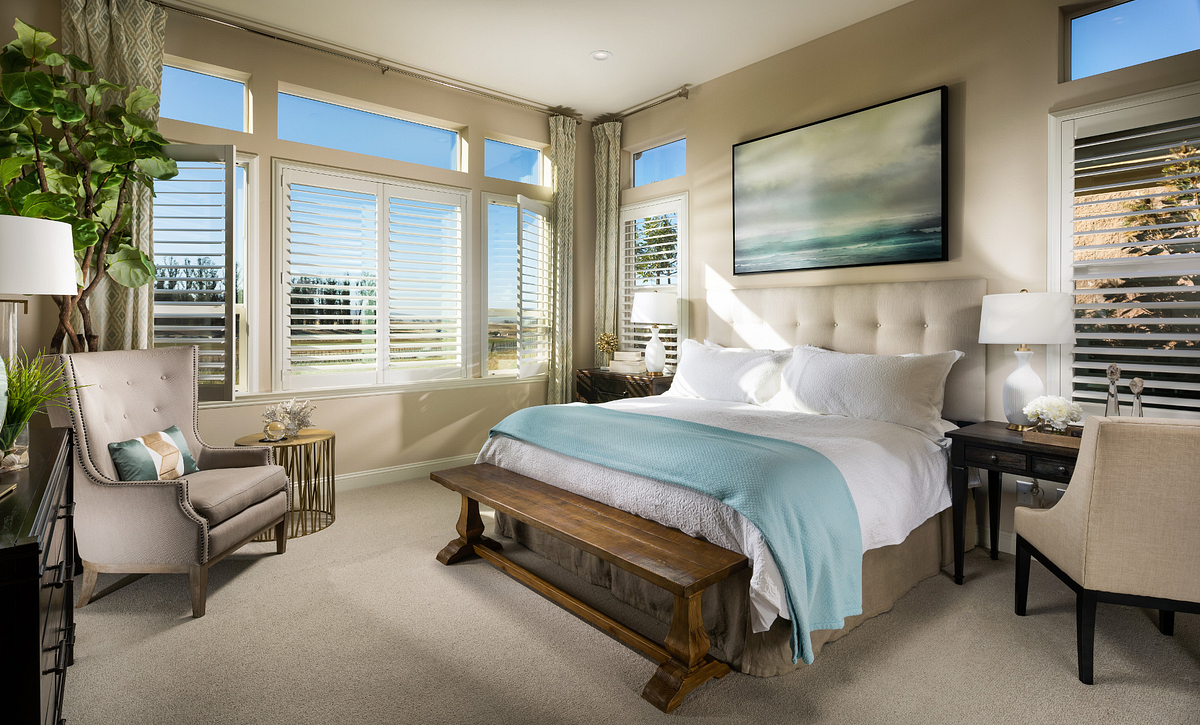 Trilogy Monarch Dunes Marsanne Master Bedroom