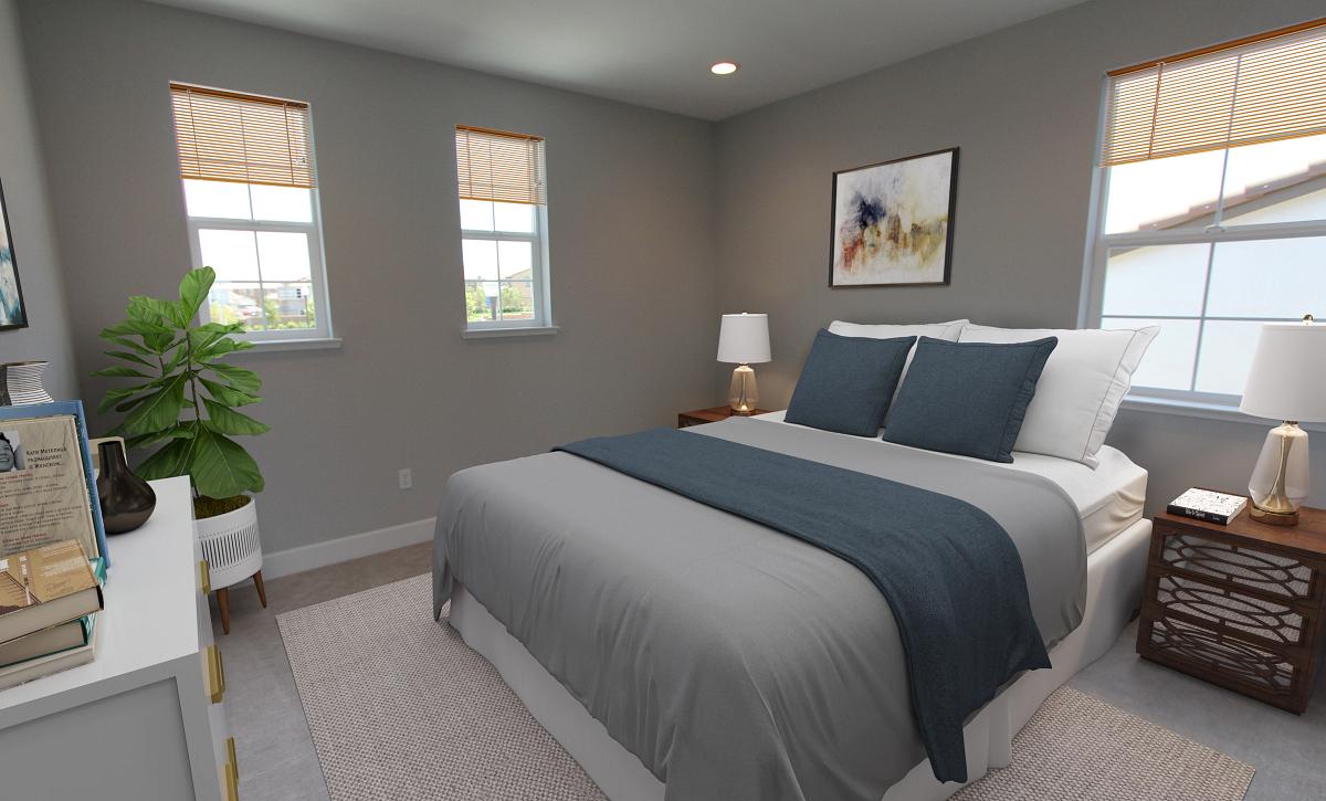 Plan 3 Bedroom 3 Virtual Staging