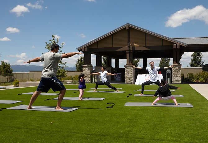 Sage Livermore Clubhouse Yoga