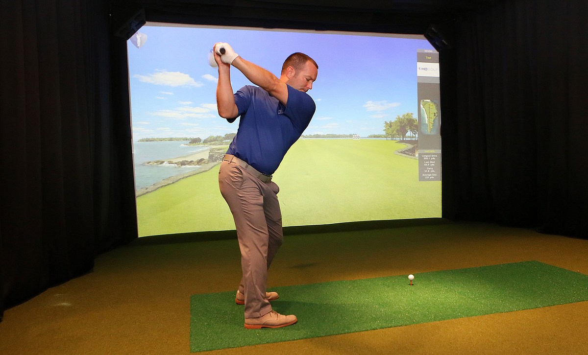 Trilogy at Lake Frederick Golf Simulator