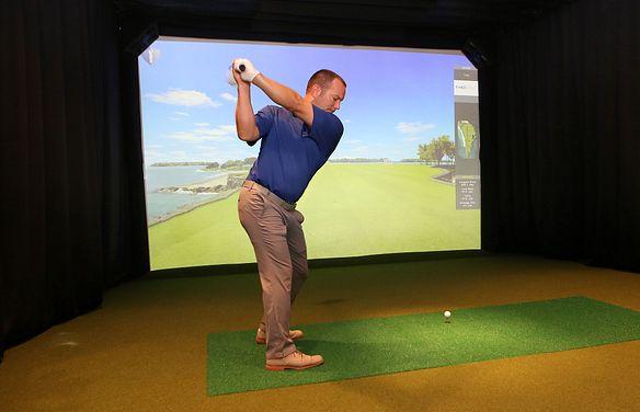 Trilogy at Lake Frederick Golf Simulator