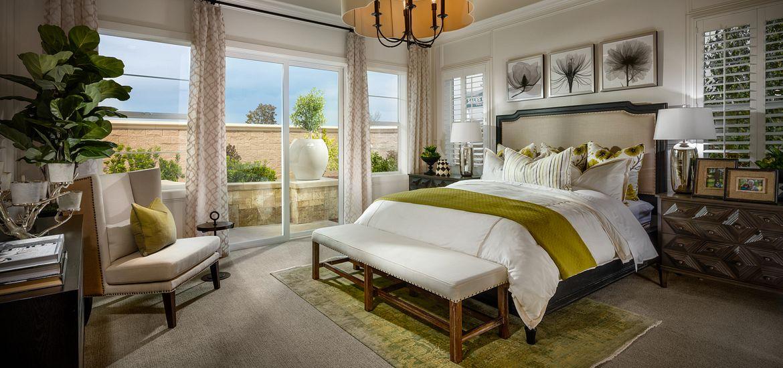 Vista Dorado Plan 3 Master Bedroom