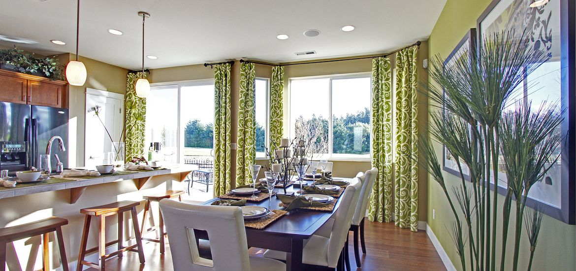 Shea Homes at Jubilee Plan Pebble Beach Dining Room
