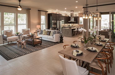 Plan 4132 Great Room