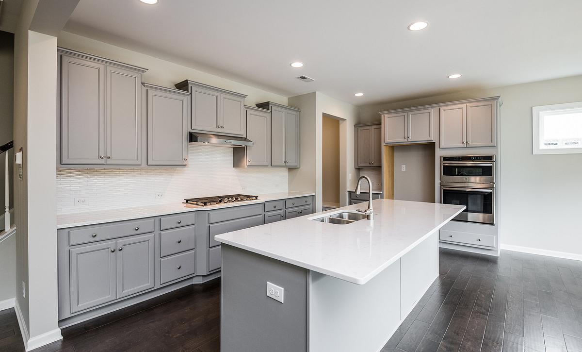 Weston plan Kitchen with split cooking option