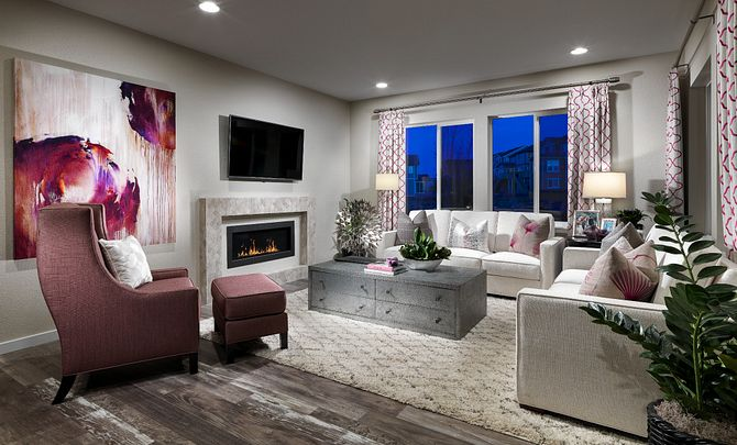 Colliers Hill Shea3D Plan 353 Great Room