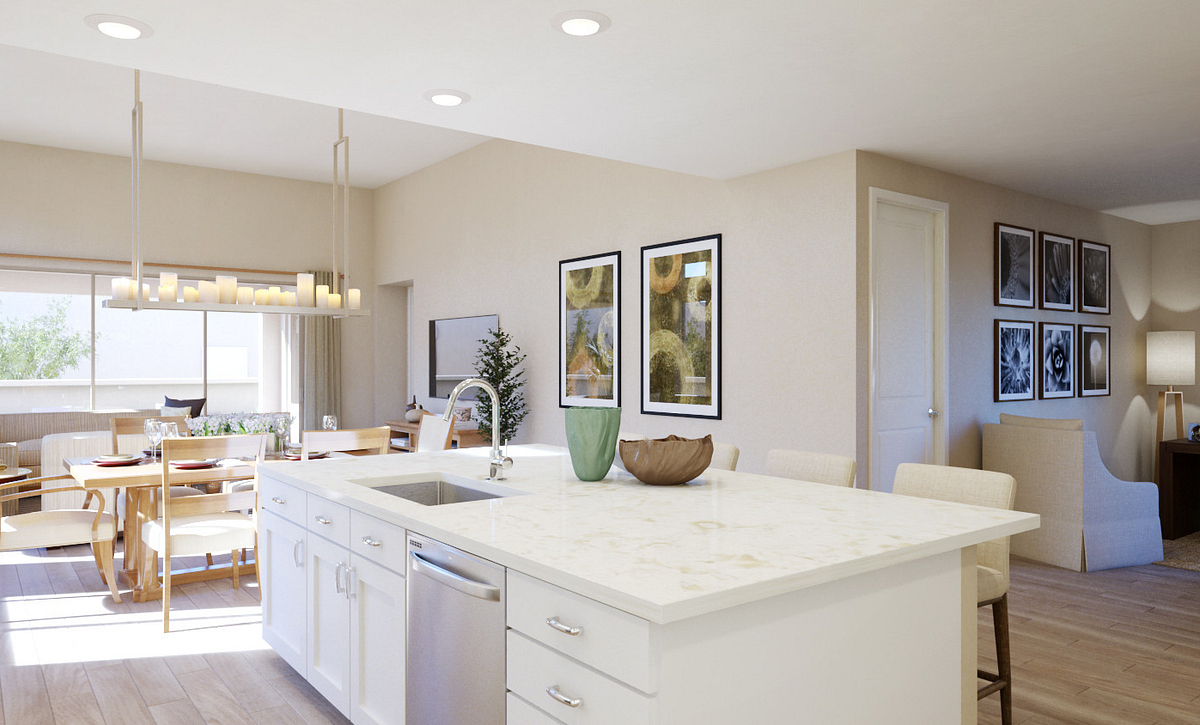 Trilogy Summerlin Explore Kitchen Rendering